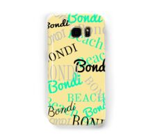 Bondi Beach! Retro Lemon Samsung Galaxy Case/Skin