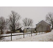 Winters Gloom Photographic Print