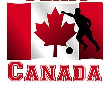 Soccer Canadian Flag Team Canada by kwg2200