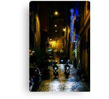 Rome Streets  Canvas Print