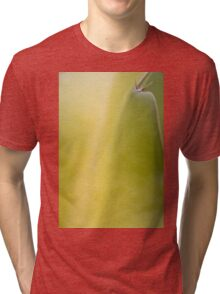 Apple Green Cactus Design Tri-blend T-Shirt