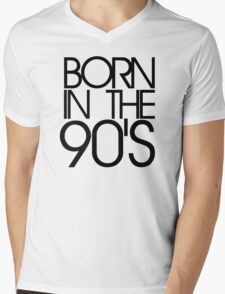 Born in the 90s Mens V-Neck T-Shirt