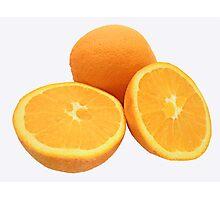 Sliced Oranges Photographic Print
