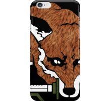 Fox Hound logo 2.0  iPhone Case/Skin