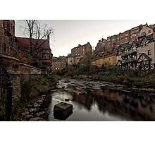 Dean Village Sunrise, Water of Leith Photographic Print