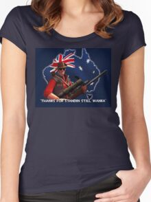 Sniper tf2 Women's Fitted Scoop T-Shirt