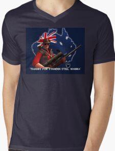 Sniper tf2 Mens V-Neck T-Shirt