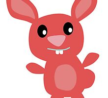 Red Bunny by kwg2200