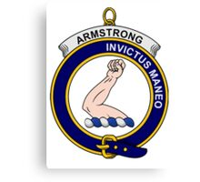 Armstrong Clan Badge Canvas Print