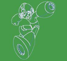 Megaman Neon Kids Tee