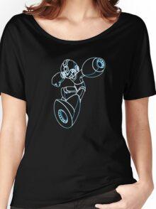 Megaman Neon Women's Relaxed Fit T-Shirt