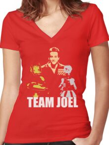 MST3K Team Joel Women's Fitted V-Neck T-Shirt