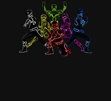 Power Rangers Neon Unisex T-Shirt