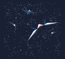 Starfox Squadron Kids Tee