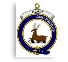 Blair Clan Badge Canvas Print
