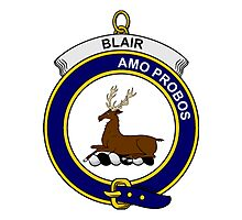 Blair Clan Badge Photographic Print