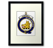 Campbell Clan Badge Framed Print