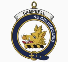 Campbell Clan Badge by William Martin