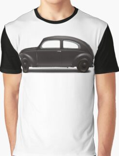 1938 KdF Wagen - Side Profile View Graphic T-Shirt