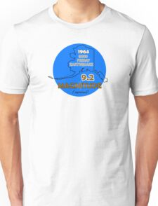 1964 GOOD FRIDAY CIRCLE ~ BLUE Unisex T-Shirt