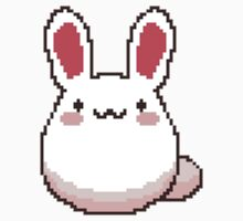Cute Pixel Bunny by punkypromises