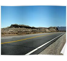 California Highway Poster