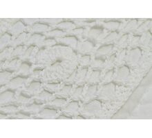 Crochet Macro  Photographic Print