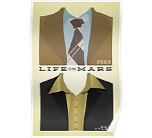 Life on Mars - Gene Hunt/Sam Tyler Wardrobe  Poster
