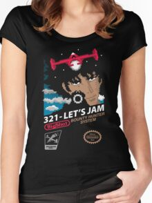 321 - Let's Jam Women's Fitted Scoop T-Shirt