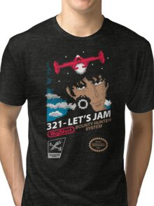 321 - Let's Jam Tri-blend T-Shirt