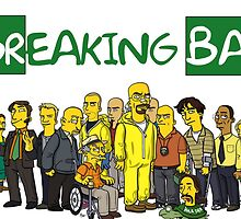 Simpson Breaking Bad  by LordTuna