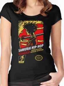 Samurai Hip-Hop Women's Fitted Scoop T-Shirt