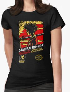 Samurai Hip-Hop Womens Fitted T-Shirt