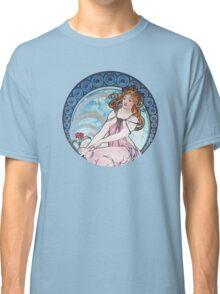 Vintage MUCHA Art Goddess Classic T-Shirt