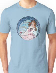 Vintage MUCHA Art Goddess Unisex T-Shirt