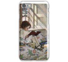 Reading Girl iPhone Case/Skin