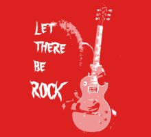 LET THERE BE ROCK T-SHIRT One Piece - Short Sleeve