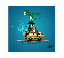 Breaking Kart Art Print