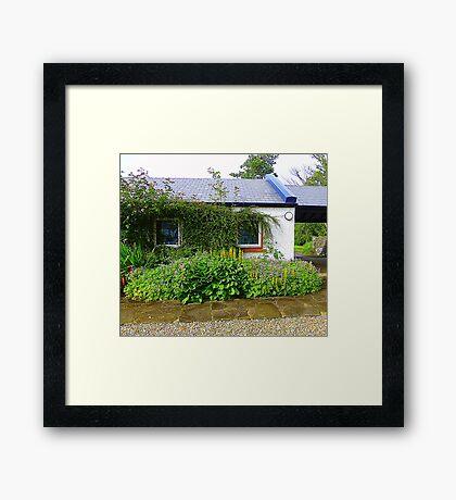 An Irish Cottage Framed Print