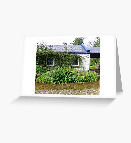 An Irish Cottage Greeting Card