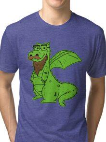 Bearded Dragon Tri-blend T-Shirt