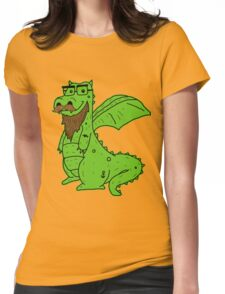 Bearded Dragon Womens Fitted T-Shirt
