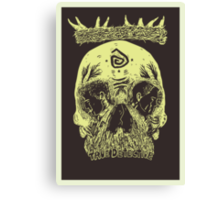 You know Carcosa? Canvas Print