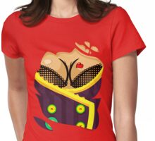 Moxxi - Purple Womens Fitted T-Shirt