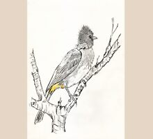 Black-eyed Bulbul in my garden Womens Fitted T-Shirt