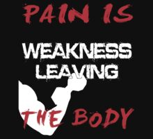 Pain is weakness leaving the body by Cemre61