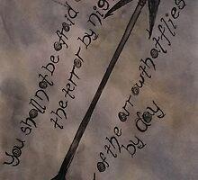 Psalms Arrow Quote #1 by CisForCathy