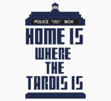 Home is where the tardis is by SamanthaMirosch