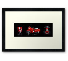 Royal Enfield Crusader Airflow Earls Court Show Model Framed Print