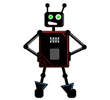 Brash Robot Photographic Print